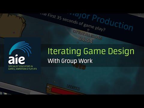 Iterating Game Design Group Work