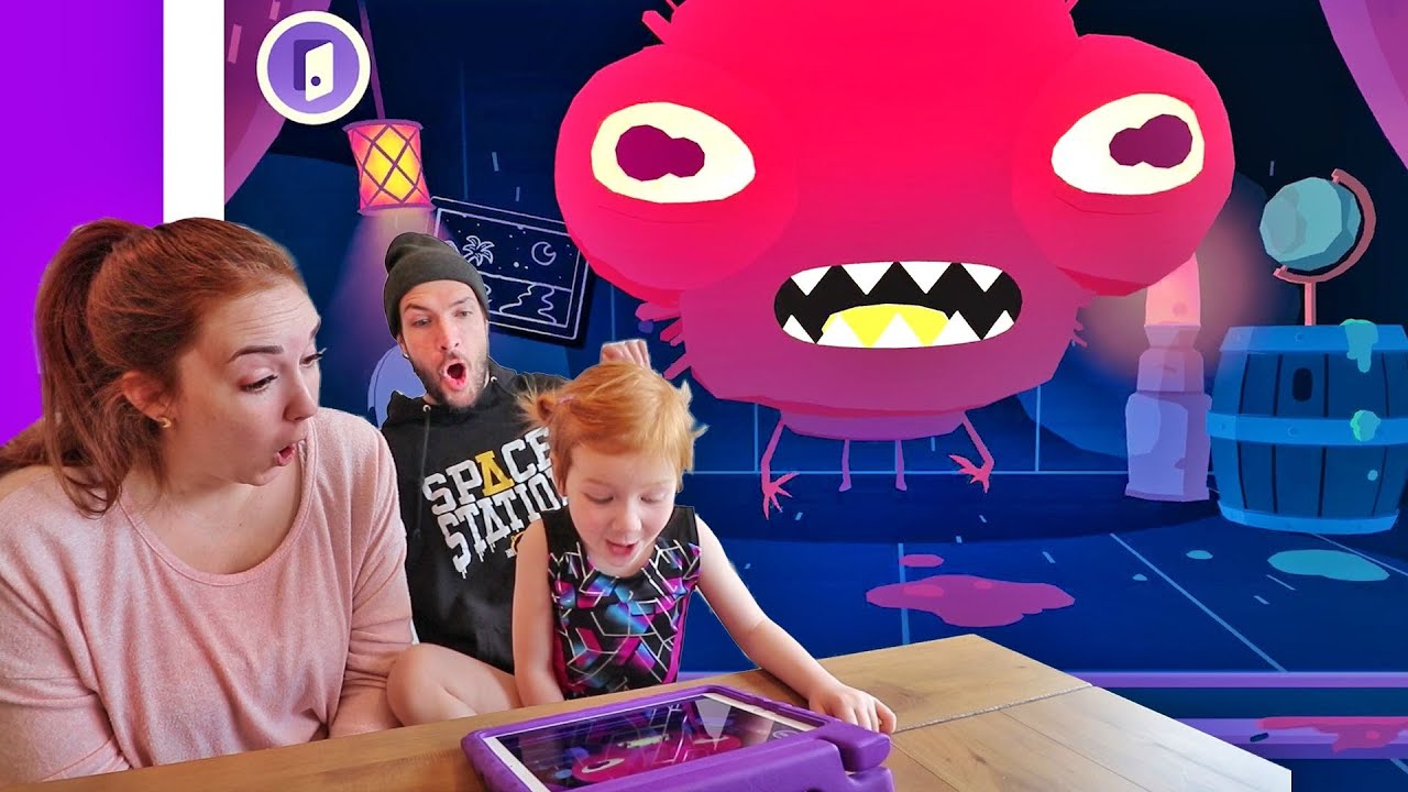 Download Adley App Reviews | Toca Mystery House | monster makeover pretend play with mystery guest mom