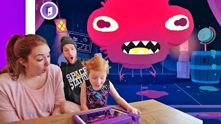 Adley App Reviews | Toca Mystery House | monster makeover pretend play with mystery guest mom