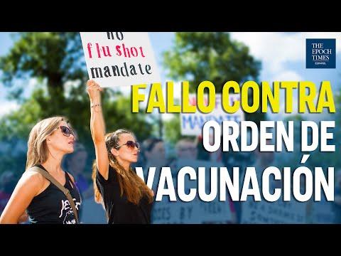 Juez apoya a estudiantes no vacunados contra la orden de vacunación en Michigan