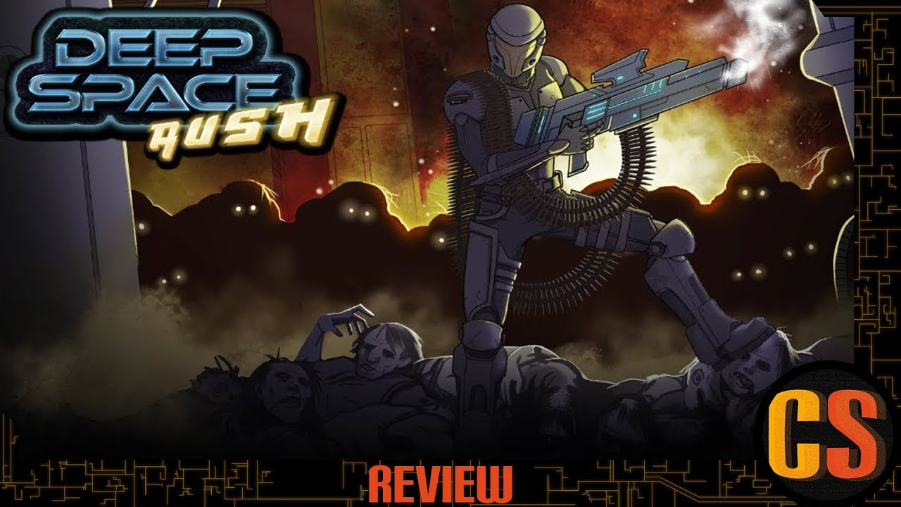 DEEP SPACE RUSH - PS4 REVIEW (Video Game Video Review)