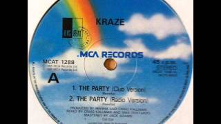 Kraze - The Party (Club Mix) (HQ)