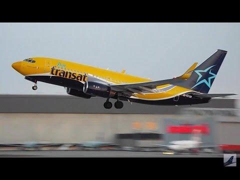 20 Minutes of Plane Spotting - Montréal/Pierre-Elliott-Trudeau Int'l Airport (YUL)