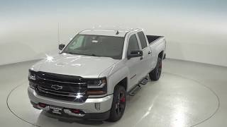 182175 - New, 2018, Chevrolet Silverado, 1500, LT, 4WD, Silver, Crew, Test Drive, Review, For Sale -