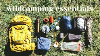 10 Wildcamping Essentials
