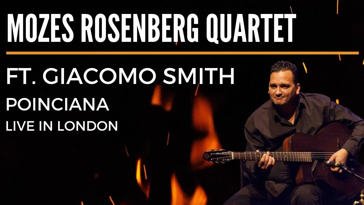 Mozes Rosenberg Quartet feat. Giacomo Smith - Poinciana - Live in London
