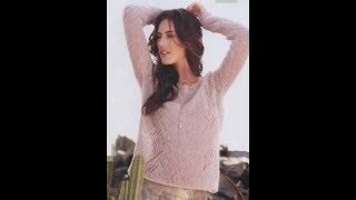 Пуловер из Мохера Спицами - 2019 / Pullover from Moher