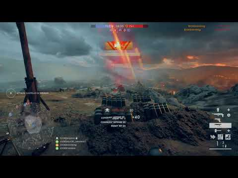 Timber! Livens projector first try :) #ogr  #bf1  #onlyinbattlefield