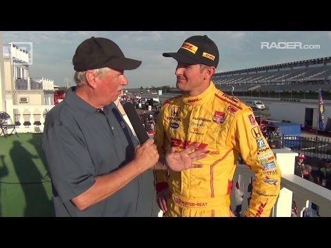 RACER: Ryan Hunter Reay on Pocono IndyCar Win