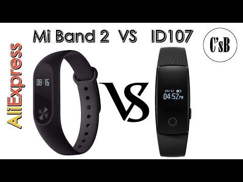 Xiaomi Mi Band 2 против ID107 - кто кого???