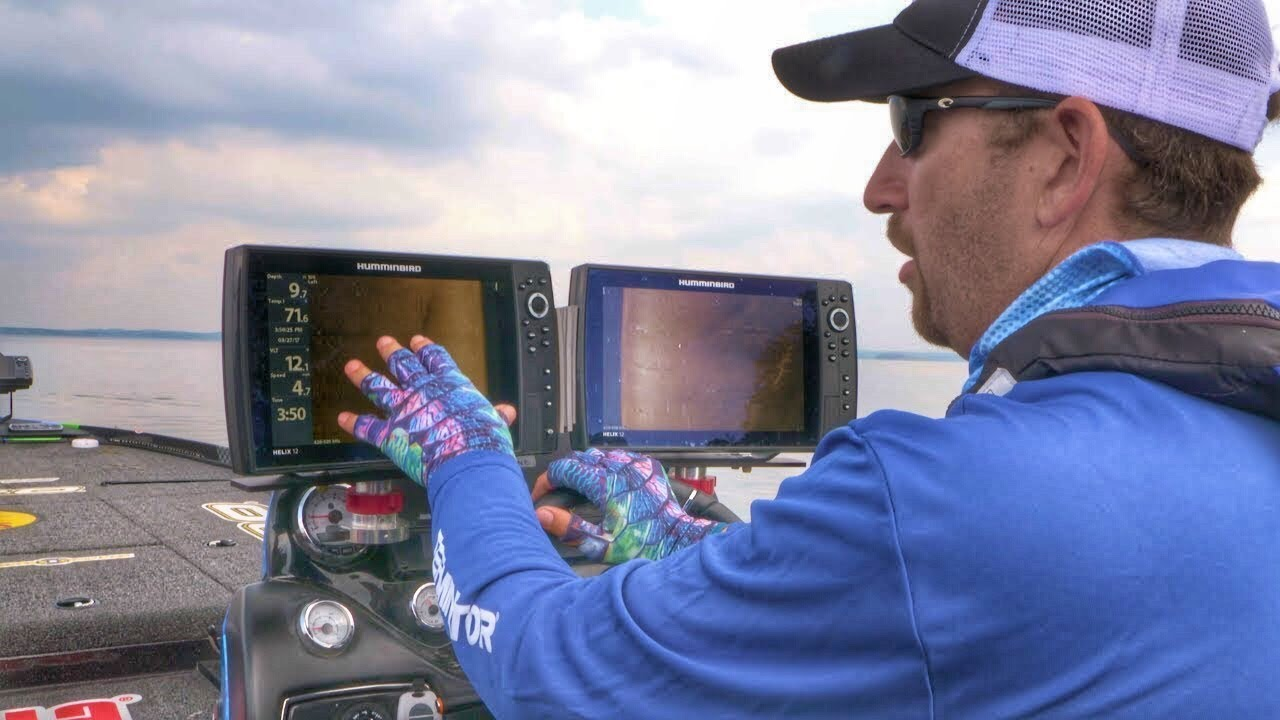 How I Setup Dual Fish Finders For Side Imaging With Ott -8839