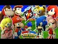 ABM: Mario Gangs Vs Sonic Gangs !! Duel Rugby Sevens !! FOOTBALL!! Gameplay Match !! HD