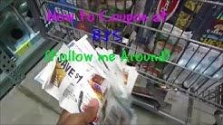 How to Coupon at BJ's/ Follow me around