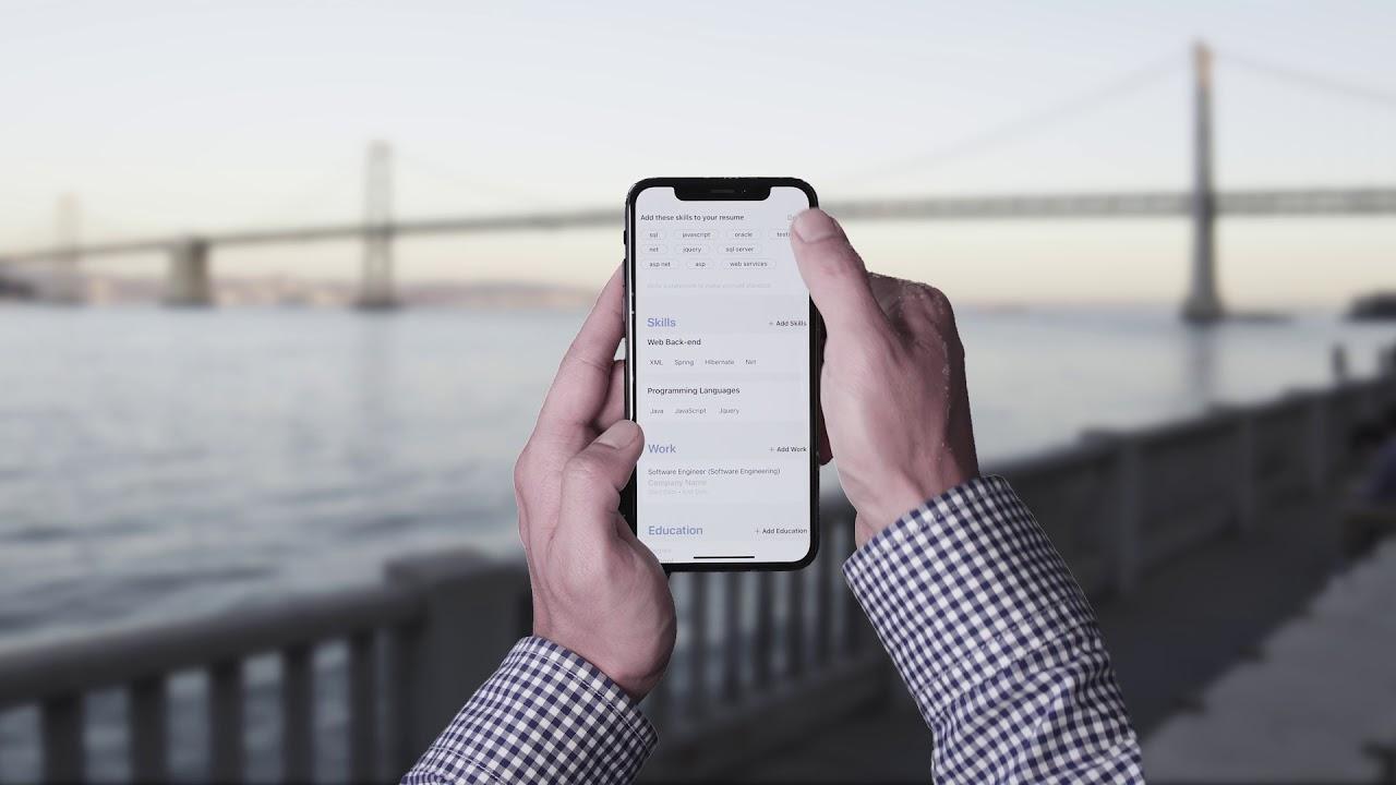 Glever Resume Builder App: AI writes resume for you - YouTube