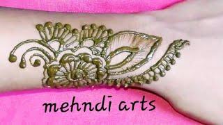 ll Easy Beautiful Mehndi Design  For Hands ll #eidspecialmehndidesign