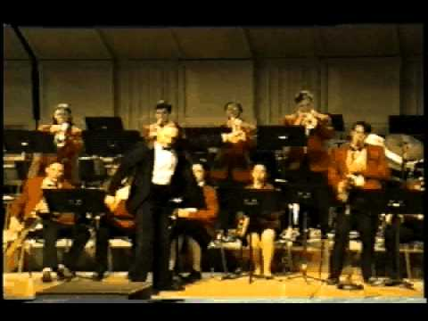 Byram Hills High School Jazz Band with Ken T on alto.avi