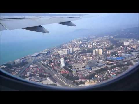 Перелёт Сочи-Москва (Трансаэро.Боинг 777-200)