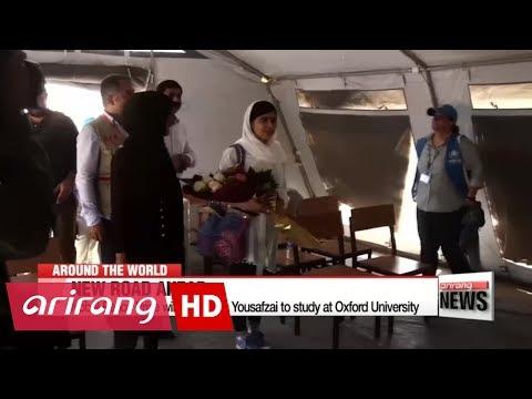 Nobel Peace Prize winner Malala Yousafzai to study at Oxford University