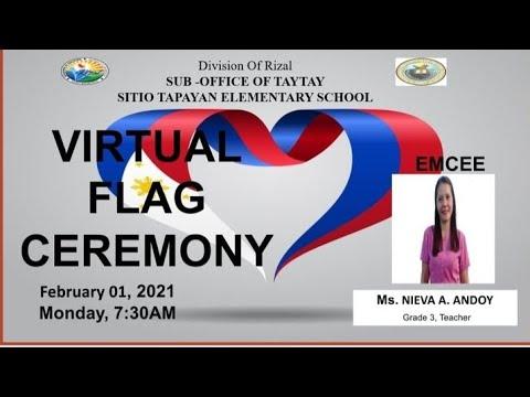 Sitio Tapayan Virtual Flag Ceremony