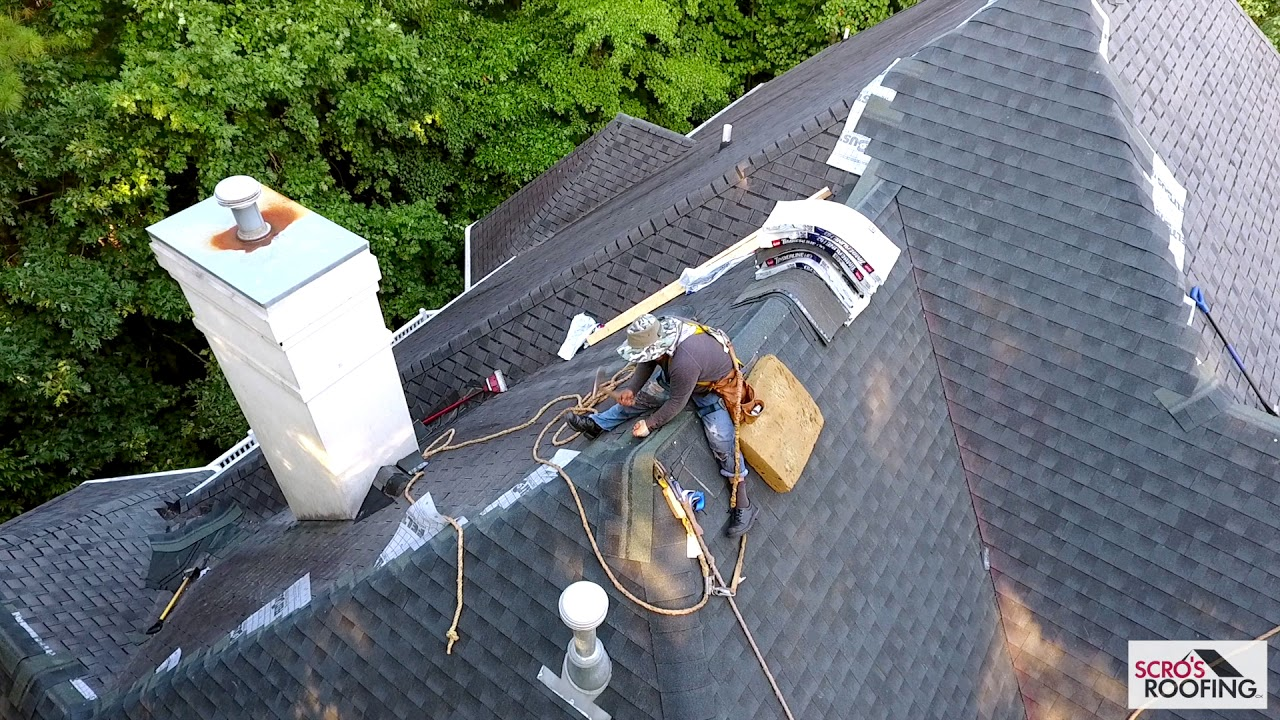 New Roof in Cary | Drone Video | Scrou0027s Roofing Company & New Roof in Cary | Drone Video | Scrou0027s Roofing Company - YouTube memphite.com
