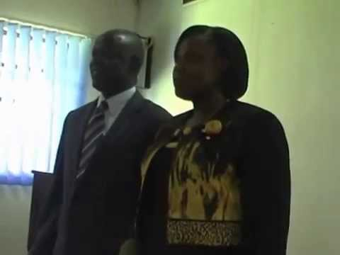 Hon. Jessica Alupo, Minister of Education Uganda