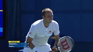 Adrian Mannarino vs. Dan Evans | US Open 2019 R1 Highlights