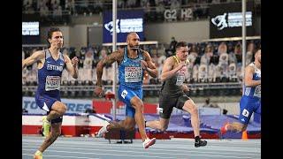 Marcell Jacobs Record Italiano e Oro all'Europeo nei 60 metri con 6.47 (1° al mondo 2021)