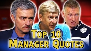 Top 10 Greatest Manager Quotes of 2014/15