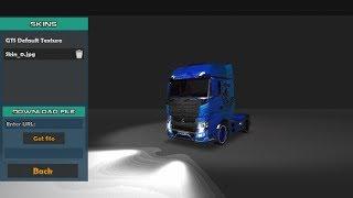 Cara pasang skin [grand truck simulator] mudah