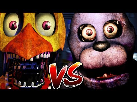 PLAY AS CHICA VS BONNIE! || Chica Simulator (Play as Five Nights at Freddys Animatronics)