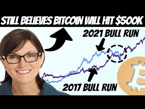 Bitcoin Bounces Back!! Kathy Wood Still Believes BTC Will Skyrocket to $500,000!!