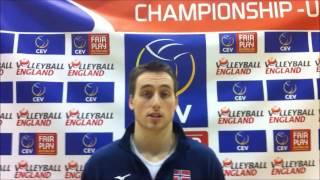 03 01 2014 Jonas Kvalen European Championships U20 Kettering Uk Day 3