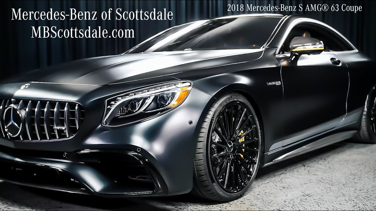 AMG® Studio Coupe - 2018 Mercedes-Benz S AMG 63 Coupe ...