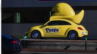Peeps! An Easter Idol Of Horus In Every Basket!