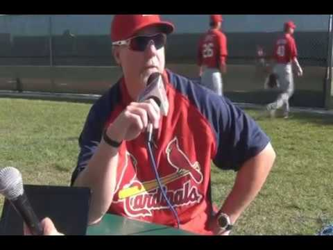 Mark McGwire St. Louis Cardinals Hitting Coach (2010 - 2013)