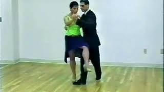 Танго-вальс. Урок 17. Кастигада с калеситой