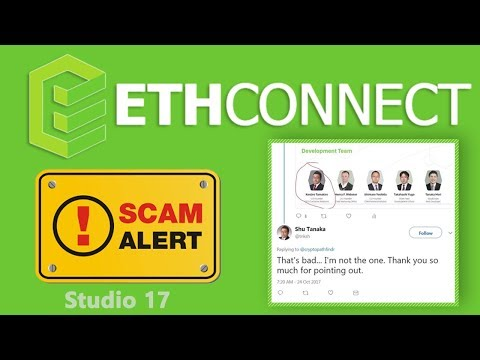 scam alert |ethconnect ICO review | fake developer team | tokyo the have no ethconnect office | cidt