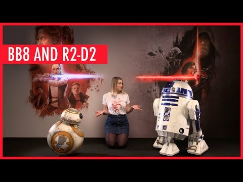 BB-8 and R2-D2 show off their dance moves during our hardest interview yet