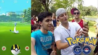 Muitos Raros no Ibirapuera! Gameplay de Pokémon GO com Youtubers