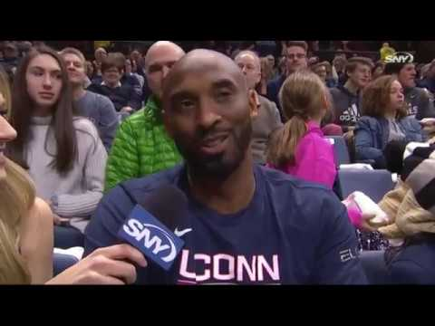 Kobe Bryant Interview | UConn Women's Basketball 03/02/2019
