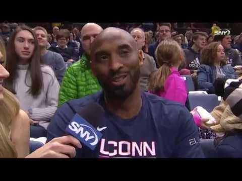 Kobe Bryant Interview | UConn Women's Basketball 03/02/2019