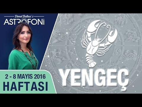 YENGEÇ Burcu Haftalık Yorumu 02 - 08 Mayıs 2016