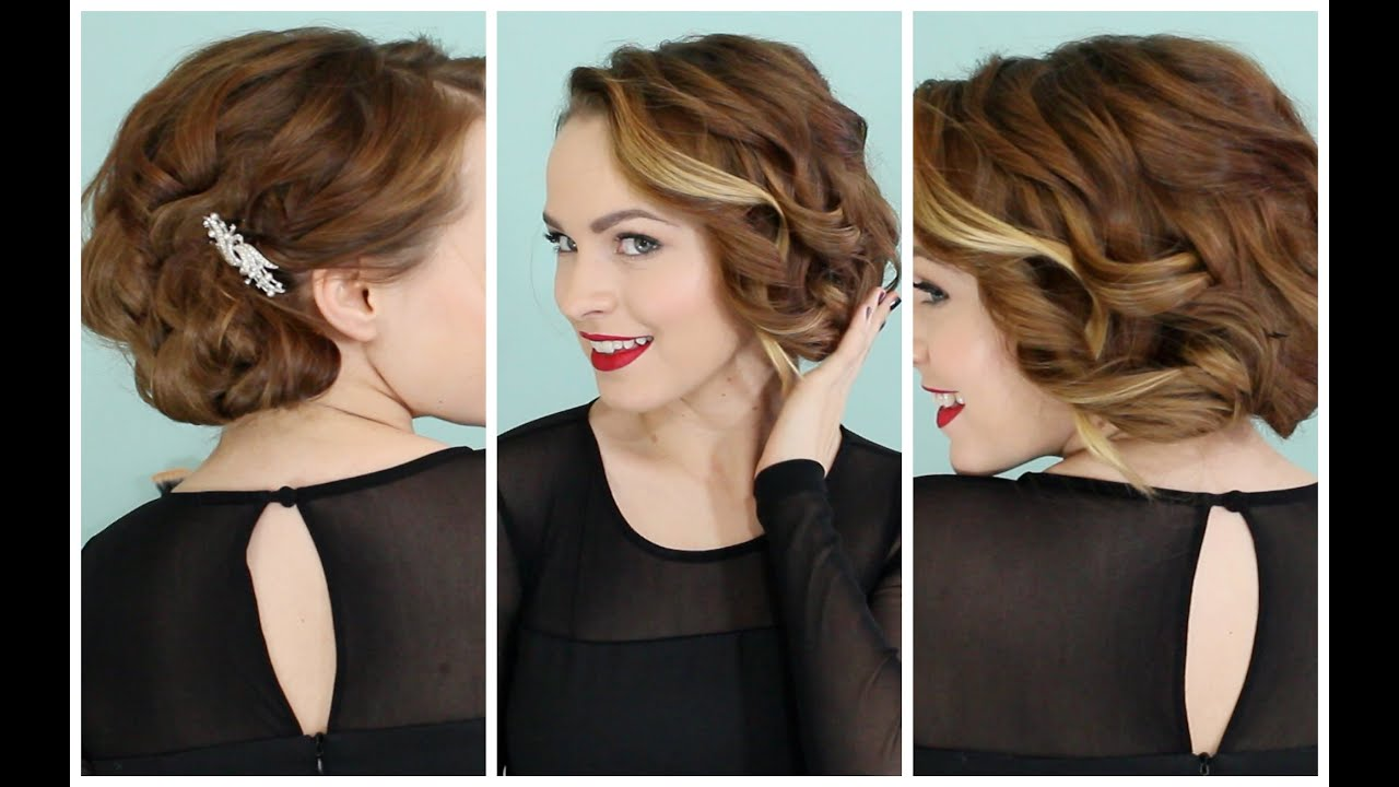 Holiday Faux Bob   No Teasing Required :D!   YouTube
