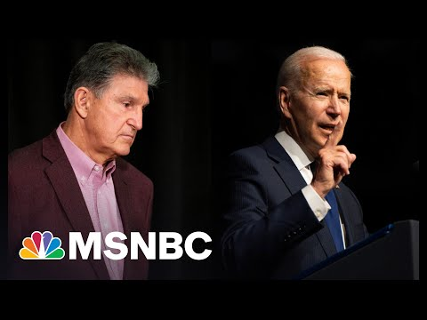 Voting Rights And Biden Agenda Imperiled By Joe Manchin
