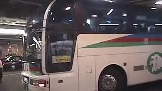 阪急梅田三番街バスターミナルの発車風景2003