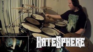 Hatesphere - Murderous Intent (drum cover)