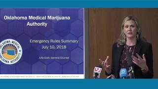 Oklahoma State Board of Health Approves marijuana rules
