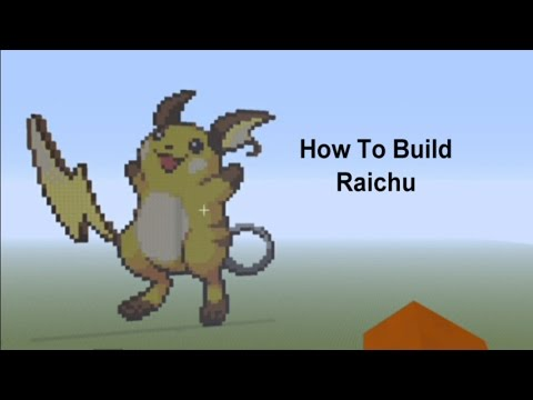 Minecraft Tutorial Raichu Pokemon