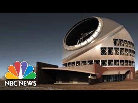 Hawaii Telescope Construction Paused | NBC News