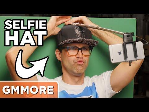 Testing the Selfie Hat